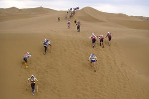 This was the first Sahara Race. It was very hot. 2005 was the hottest race.