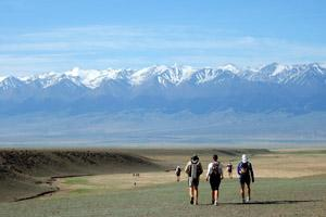 It was very beautiful at the Gobi March 2006.