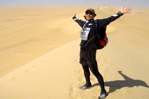 I'm in this one at the Sahara Race 2008. It's the best photo of me.